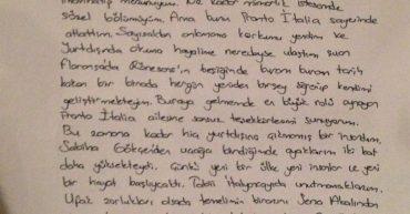 Mimarlık okumak isteyen değerli öğrencimiz Aslı'nın mektubu - Genova Üniversitesi